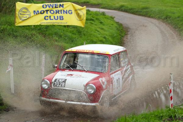 Team Mini Sport's Clive King Takes on the AGBO Stages!
