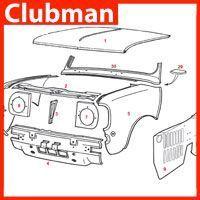Clubman Panels