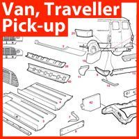 Mini Van, Traveller & Pick-up Panels